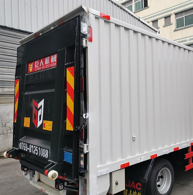 货车尾板安装案例